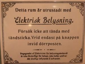 elektrisk ström